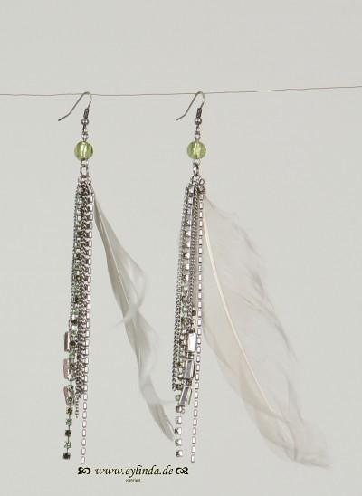 Ohrringe, Tottori Jewellery, lint
