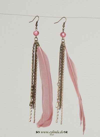 Ohrringe, Tottori Jewellery, rose