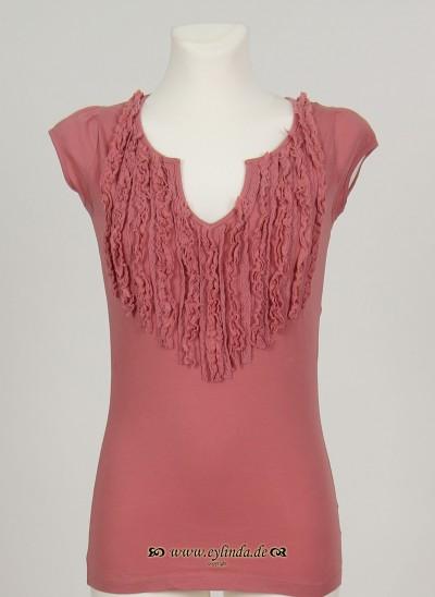 T-Shirt, Basic Organic Jersey, rose