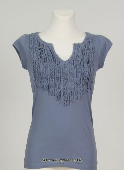 T-Shirt, Basic Organic Jersey, tempest