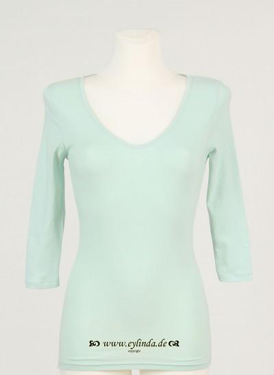 Shirt, Basic Jersey Stretch Light, light-canton