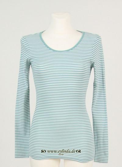Shirt, Basic Single Rib Striped, canton