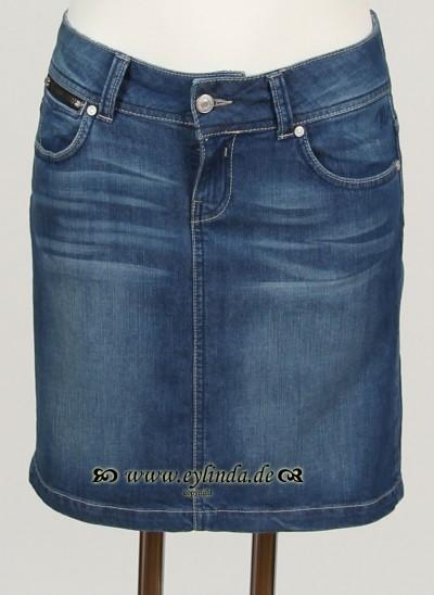 Jeans-Rock, Basic Denim, denim-blue