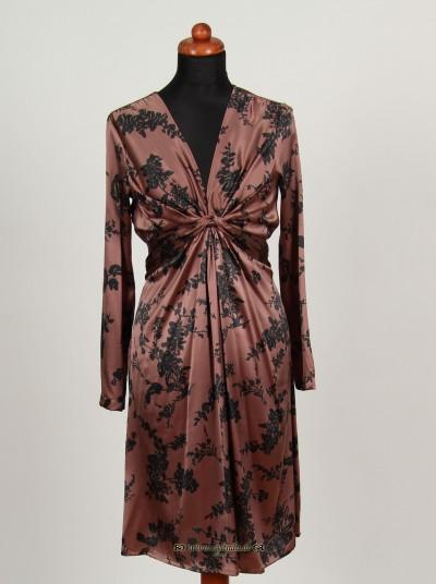 Kleid, Sweet Silk, burlwood