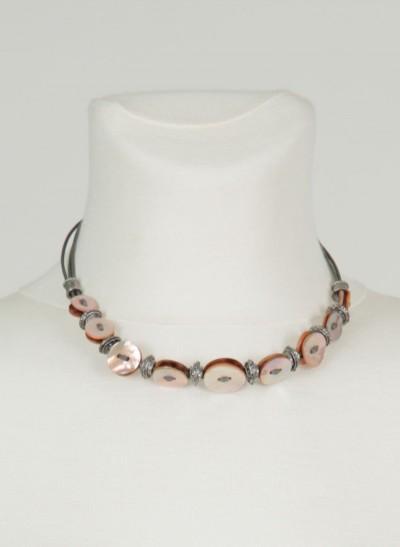 Kette, Jocelyn Jewellery, light-blush