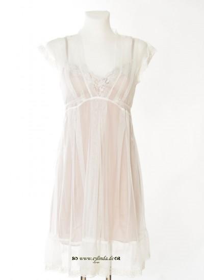 Kleid, Brignoles Net, chalk