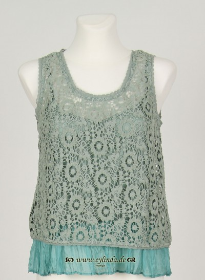 Top, Augusta Lace, surf