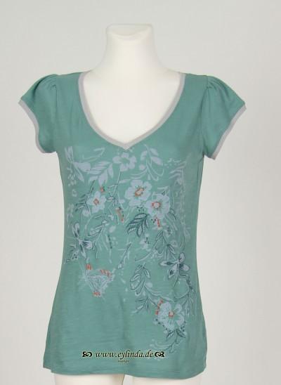 T-Shirt, Castell Jersey, dark-surf