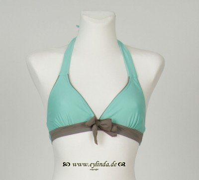 Bikini-Oberteil, Adeli swimwaer solid, surf