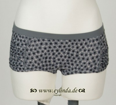 Bikini-Höschen, Adeli swimwaer printed, black