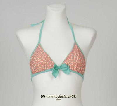 Bikini-Oberteil, Adeli swimwaer printed, coral