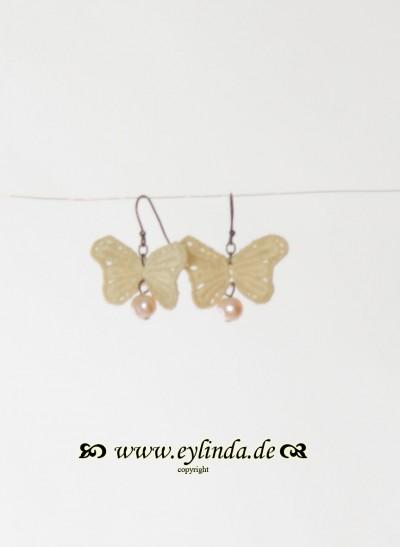 Ohrringe, Papillon Jewellery, seashell