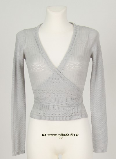 Wraparound, Basic Organic Knit, pearl