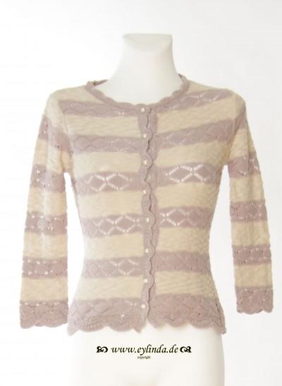 Cardigan, Violetta Knit, seashell