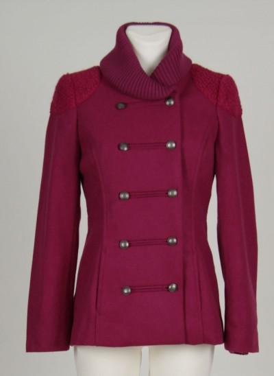 Jacke, Sailor Wool , light-burgundy