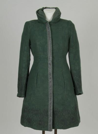 Mantel, Jacquard Coat , light-pine