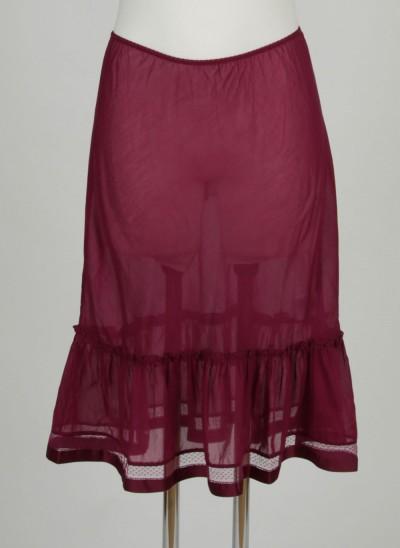 Unterrock, L'ess Cotton Silk, light-burgundy
