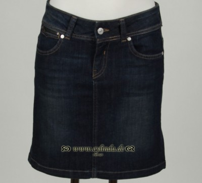 Jeansrock, Basic Denim, denim-dark-blue