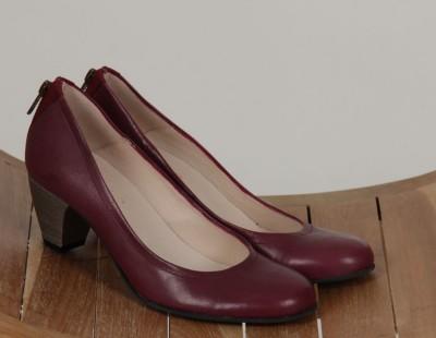 Schuhe, Kittelite Shoe, burgundy