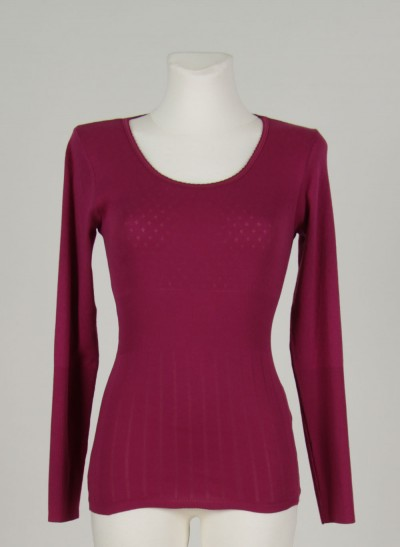 Shirt, L'ess Doria, light-burgundy
