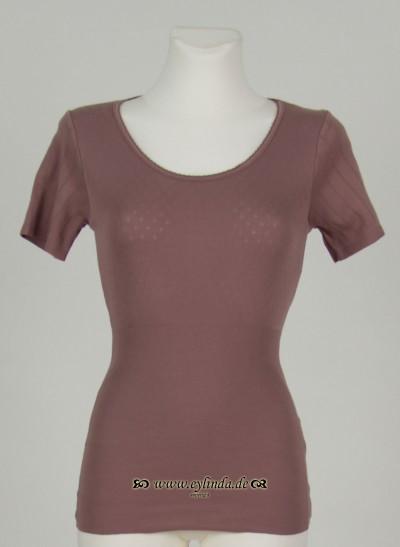T-Shirt, L'ess Doria, dark-fawn