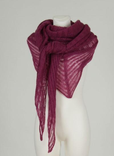 Stola, Glaze Shawl, light-burgundy