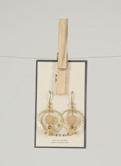 Ohrringe, Tourmalin Jewellery, light-mushroom