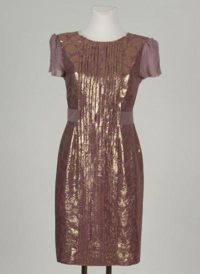 Kleid, Surat Jacquard, light-peppercorn
