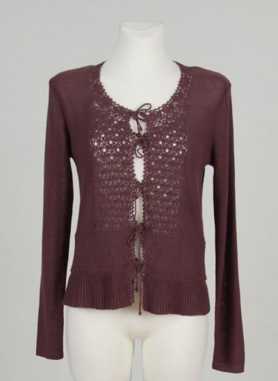 Cardigan, Vienna Knit, dark-fawn