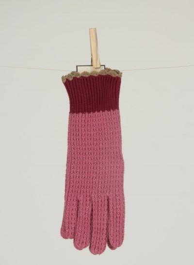 Handschuhe, Mica Acc., wine