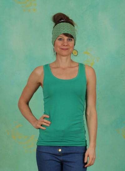 Top, Basic Cotton Stretch, viridis