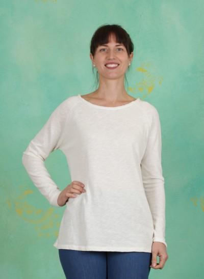 T-Shirt, Basic Heavy Cotton Slub, cloud-dancer