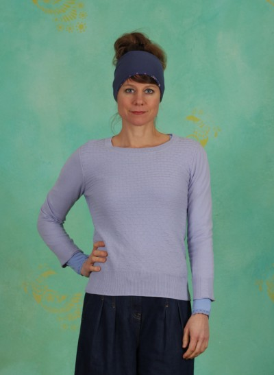 Pullover, Basic Organic Cotton, cosmic-sky