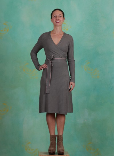 Kleid, Viscose Knit, agave-green