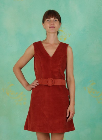 Kleid, Viva La Groove Dress, brown