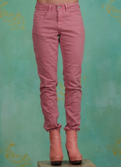 Hose, Lotte Twill Jeans Coco Fit, melon-sorbet