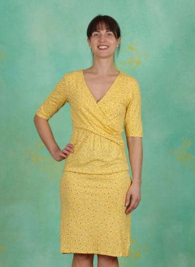 Kleid, Alexa, cornsilk-yellow
