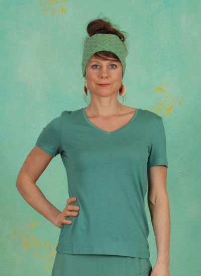 T-Shirt, Naia, bottle-green