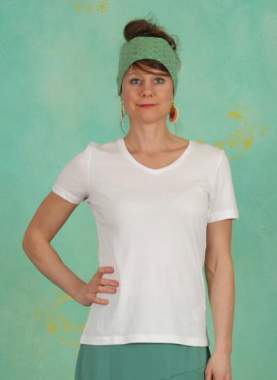 T-Shirt, Naia, chalk
