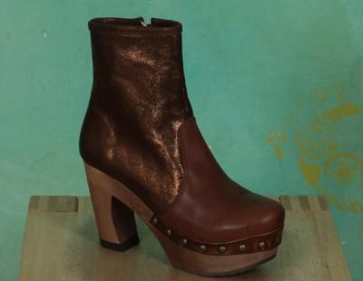 Schuhe, 1204-122, roma-brown-metallic