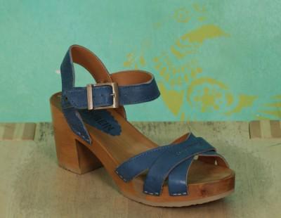 Schuhe, Lena, roma-blau