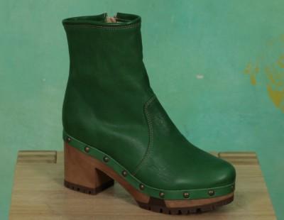 Schuhe, 1208-034, roma-green