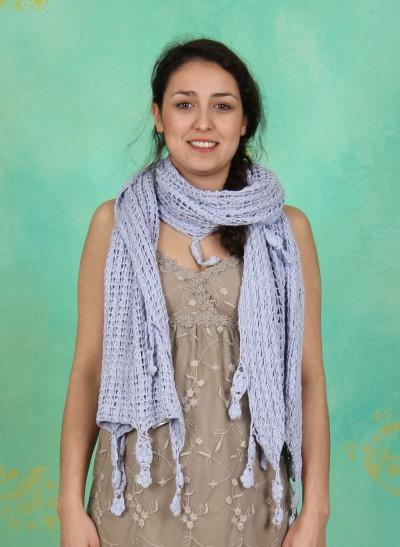 Schal, Melanie, languid-lavender