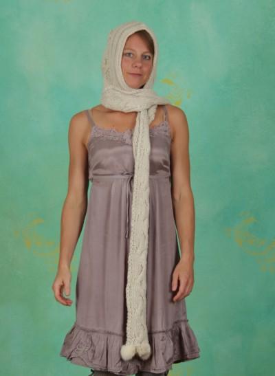 Mütze, Iris, warm-off-white