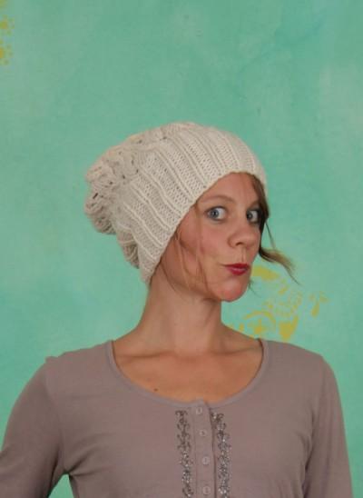 Mütze, Belinda, milky-sand