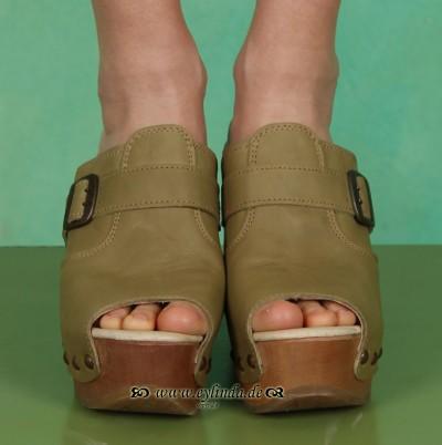 Schuhe, Sandy, mountain/moss