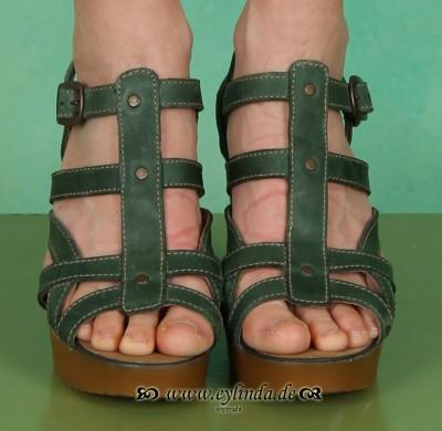 Schuhe, June, rug/green
