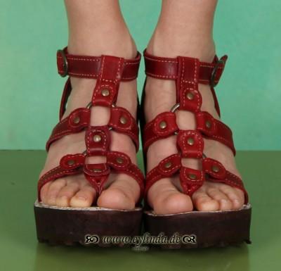 Schuhe, Goon, rug/red
