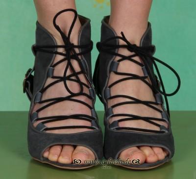 Schuhe, Tez, dark grey/indigo