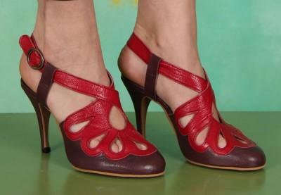 Schuhe, Blythe, mousse-purple-rubi